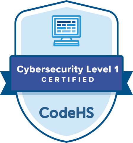 Cybersecurity Certification Badge