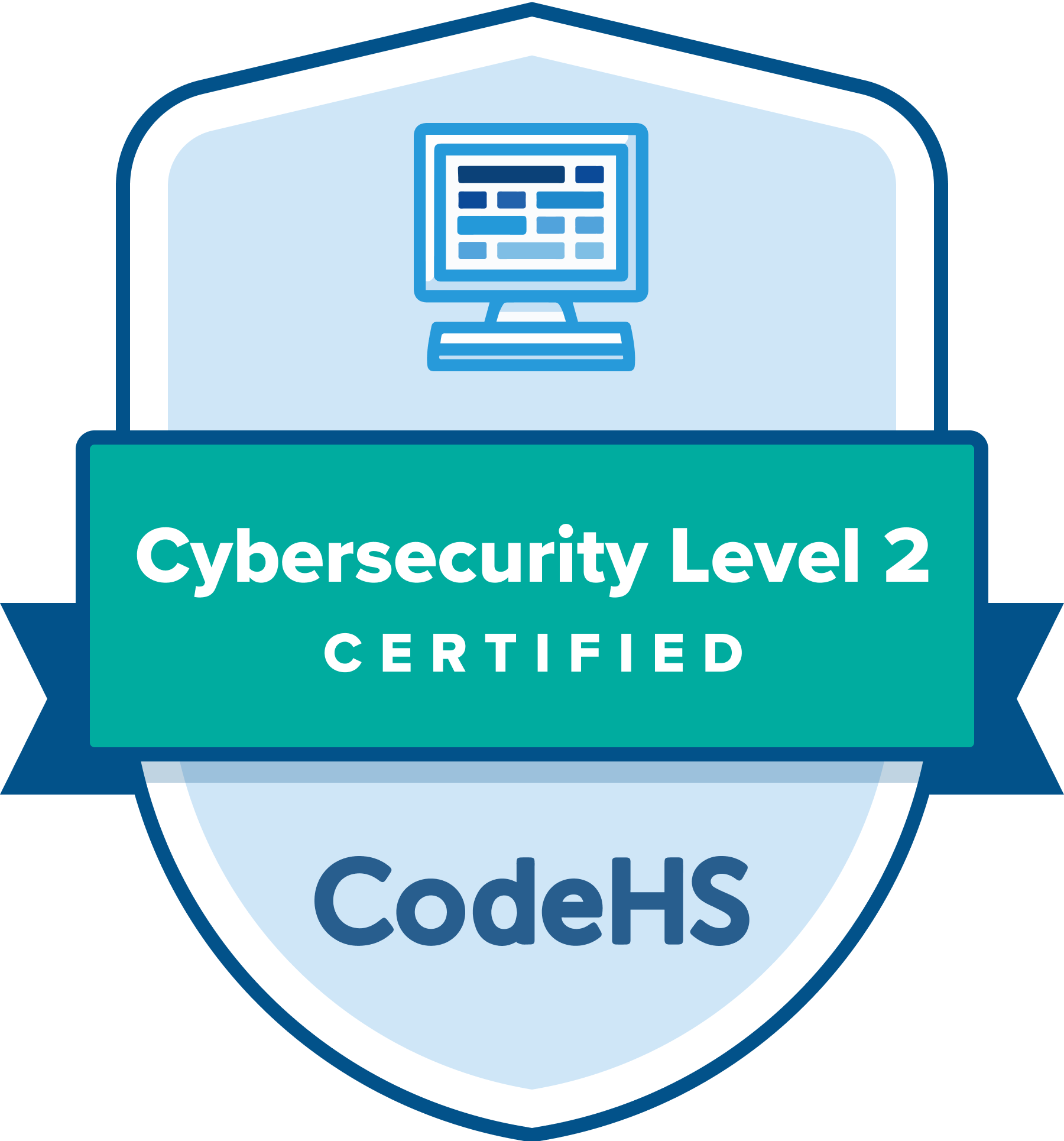 Cybersecurity Level 2 Certification Badge