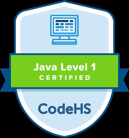 Java Certification Badge