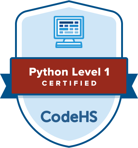 Python Certification Badge