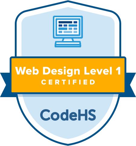 Web Design Certification Badge